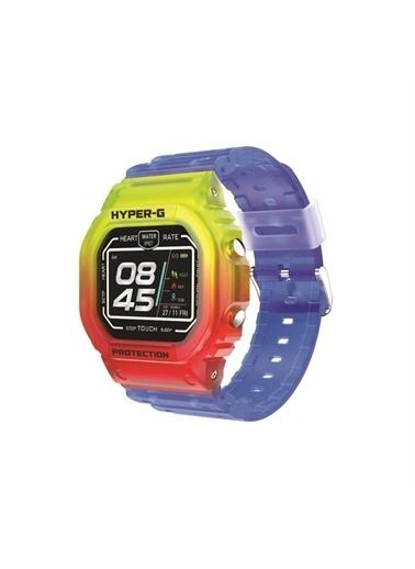 Polo Smart Pssw08 Hyper-G Akıllı Saat Renkli Mavi Mavi